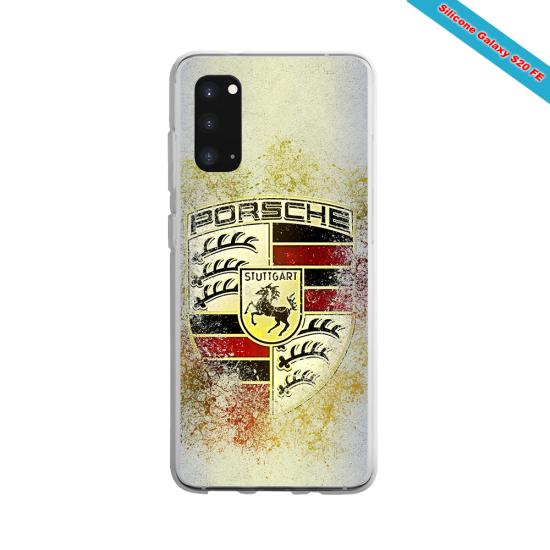Coque silicone Iphone X/XS verre trempé Fan de Rugby Montpellier Destruction