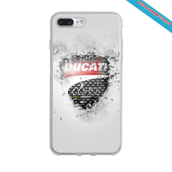 Coque Silicone Galaxy S6 EDGE Fan de Rugby Montpellier Destruction