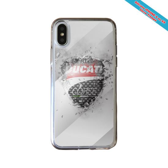 Coque Silicone Galaxy S8 Fan de Rugby Montpellier Destruction