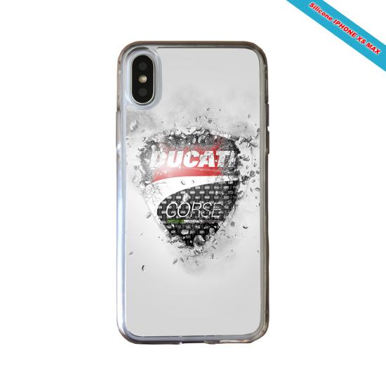 Coque Silicone Galaxy S9 verre trempé Fan de Rugby Montpellier Destruction