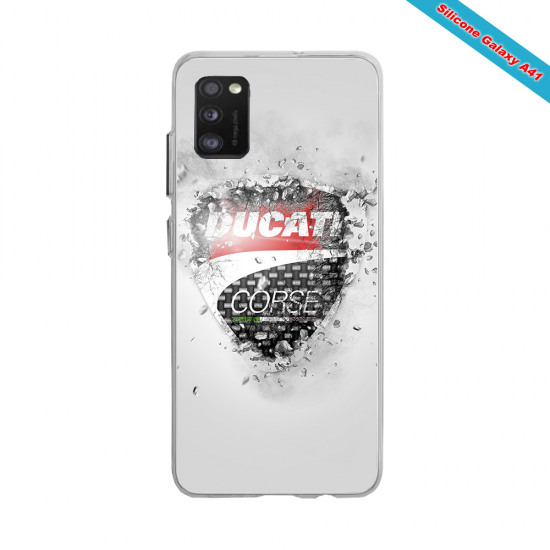 Coque silicone Huawei Mate 20 Fan de Rugby Montpellier Destruction