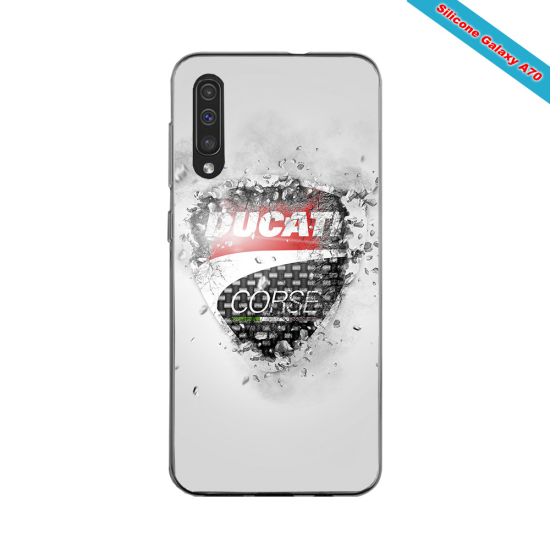 Coque silicone Huawei Mate 30 Fan de Rugby Montpellier Destruction