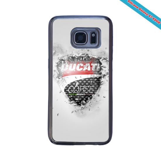 Coque Silicone iphone 7/8 Fan de Rugby Paris Destruction