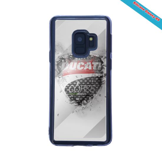 Coque silicone Iphone X/XS Fan de Rugby Paris Destruction