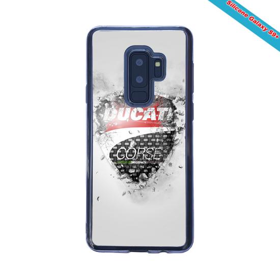 Coque silicone Iphone X/XS verre trempé Fan de Rugby Paris Destruction
