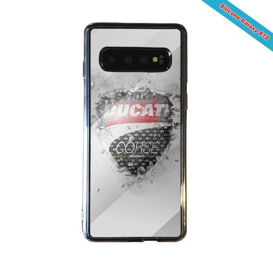 Coque silicone Iphone XS MAX Fan de Rugby Paris Destruction