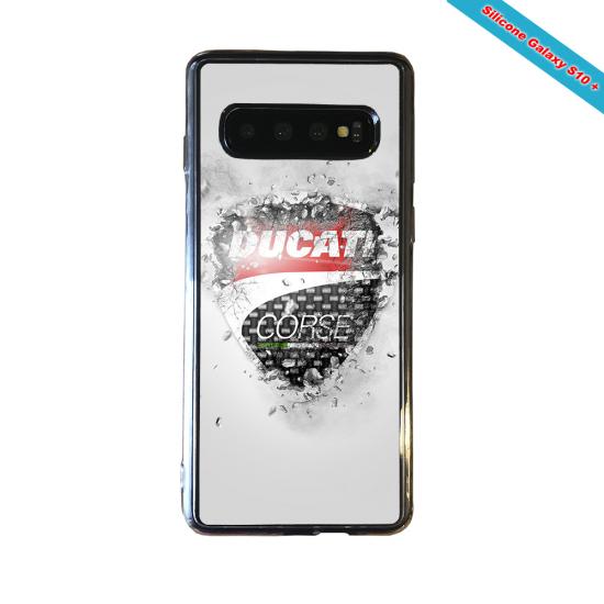 Coque silicone Iphone 11 verre trempé Fan de Rugby Paris Destruction