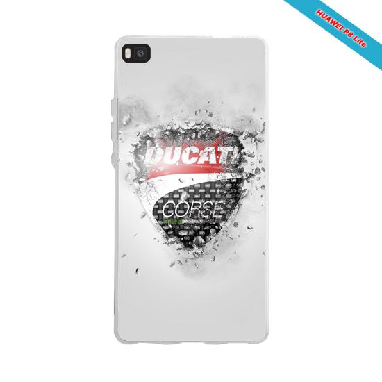 Coque silicone Galaxy J3 2016 Fan de Rugby Paris Destruction