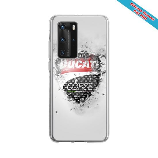 Coque Silicone Galaxy S6 Fan de Rugby Paris Destruction