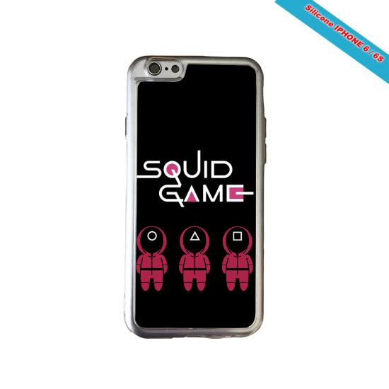 Coque Silicone Galaxy S7 EDGE Fan de Rugby Paris Destruction