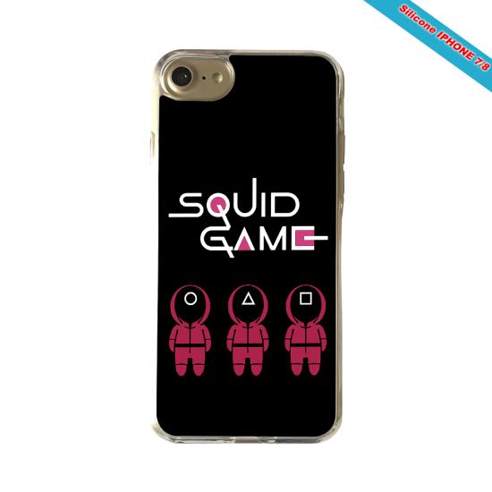 Coque Silicone Galaxy S9 verre trempé Fan de Rugby Paris Destruction