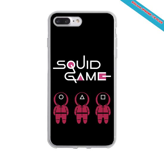 Coque Silicone Galaxy S9 PLUS verre trempé Fan de Rugby Paris Destruction