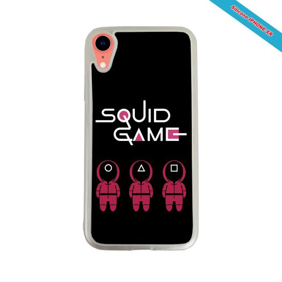 Coque Silicone Galaxy S10E verre trempé Fan de Rugby Paris Destruction