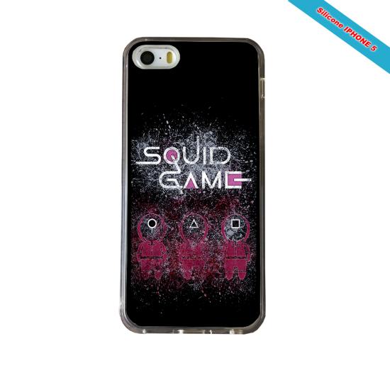 Coque Silicone Galaxy S9 PLUS verre trempé Fan de Rugby Pau Destruction