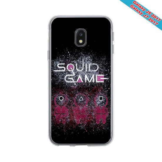 Coque Silicone iphone 7/8 verre trempé Fan de Rugby Racing 92 Destruction