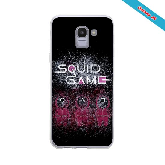 Coque Silicone iphone 7/8 PLUS Fan de Rugby Racing 92 Destruction