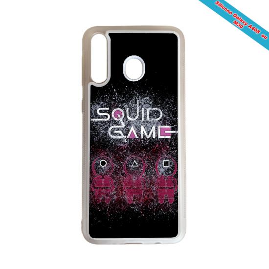 Coque silicone Iphone 11 verre trempé Fan de Rugby Racing 92 Destruction