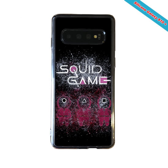 Coque silicone Galaxy A30S Fan de Rugby Racing 92 Destruction