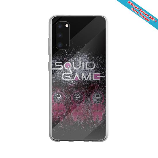 Coque silicone Galaxy A51 Fan de Rugby Racing 92 Destruction