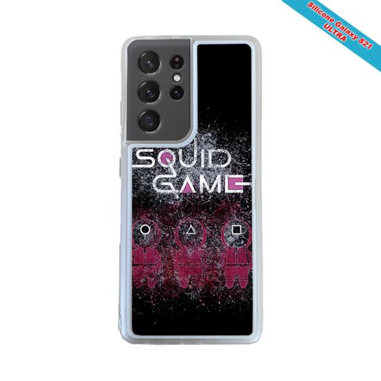Coque silicone Galaxy J3 2017 Fan de Rugby Racing 92 Destruction