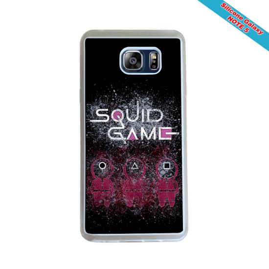 Coque silicone Galaxy J3 2018 Fan de Rugby Racing 92 Destruction