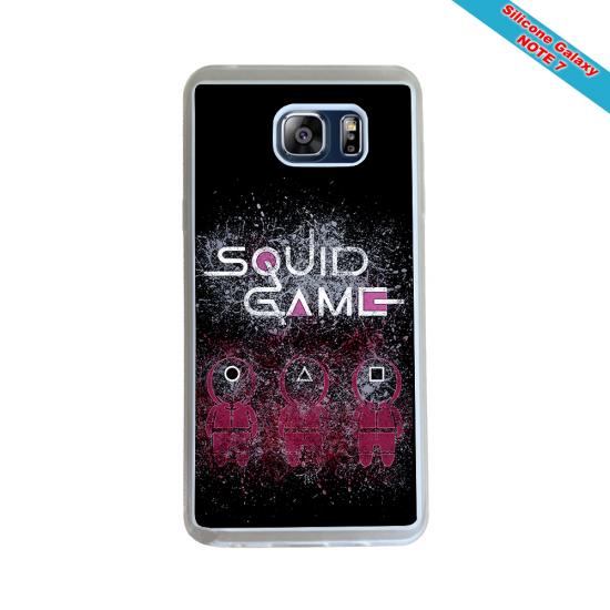 Coque silicone Galaxy J4 2018 Fan de Rugby Racing 92 Destruction
