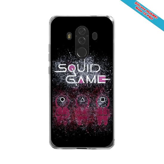 Coque silicone Galaxy J6 PLUS Fan de Rugby Racing 92 Destruction