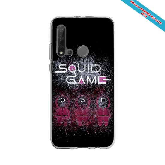 Coque Silicone Galaxy S9 verre trempé Fan de Rugby Racing 92 Destruction