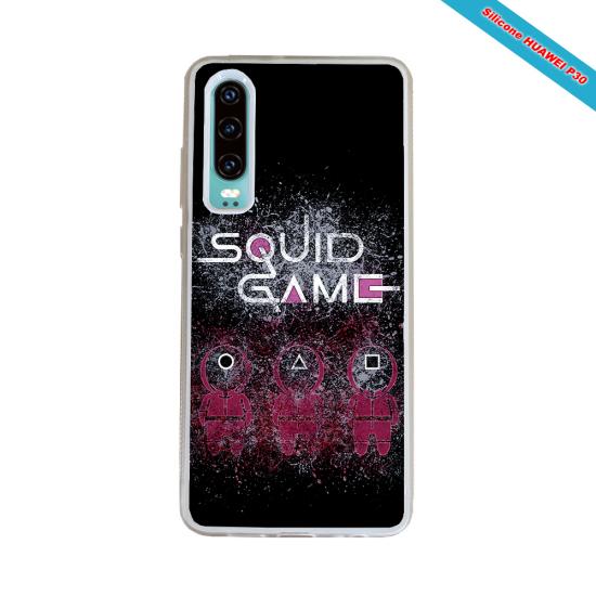 Coque Silicone Galaxy S9 PLUS verre trempé Fan de Rugby Racing 92 Destruction