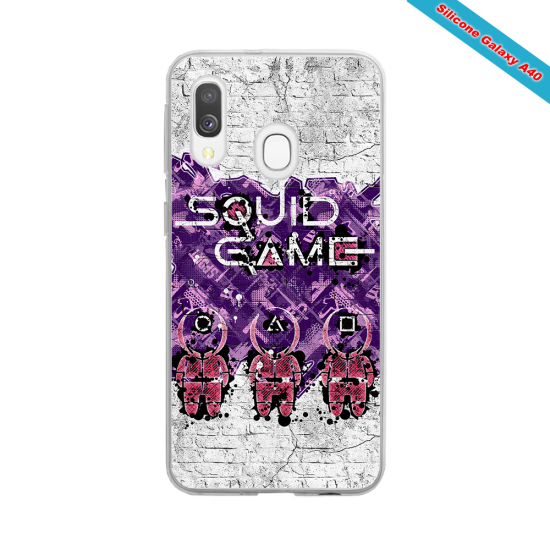 Coque silicone Huawei P40 Lite Fan de Rugby Racing 92 Destruction
