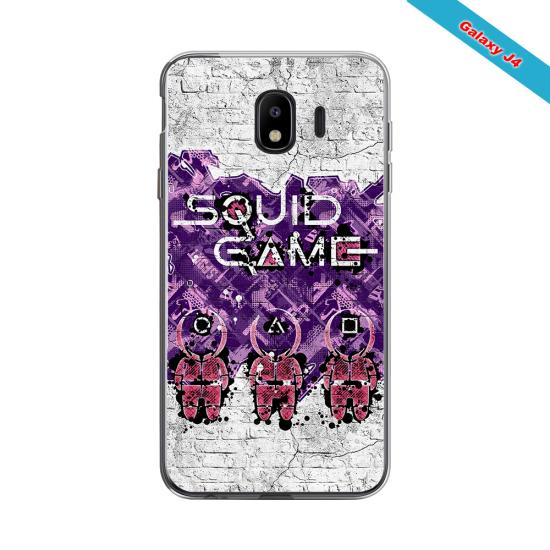 Coque silicone Iphone X/XS verre trempé Fan de Rugby La Rochelle Destruction