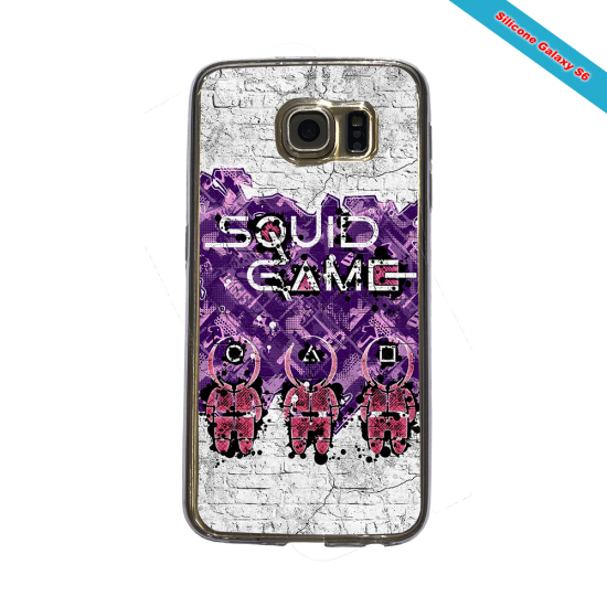 Coque silicone Galaxy A10 Fan de Rugby La Rochelle Destruction