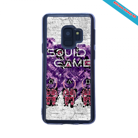 Coque silicone Galaxy A30S Fan de Rugby La Rochelle Destruction
