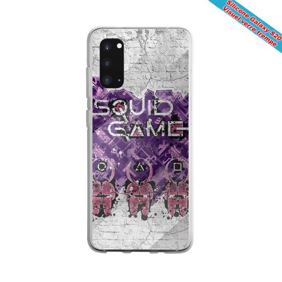 Coque silicone Galaxy J4 2018 Fan de Rugby La Rochelle Destruction