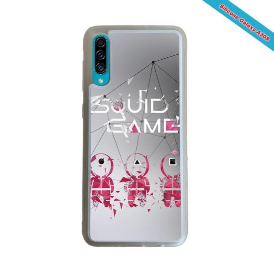 Coque Silicone iphone 7/8 verre trempé Fan de Rugby Toulon Destruction