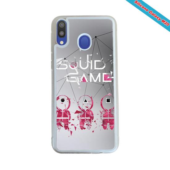 Coque silicone Galaxy A21S Fan de Rugby Toulon Destruction