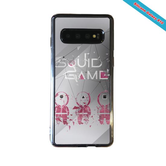 Coque silicone Galaxy J4 PLUS Fan de Rugby Toulon Destruction
