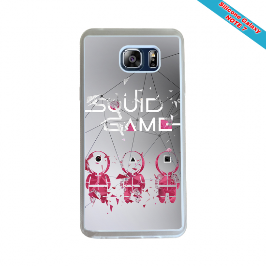 Coque Silicone Galaxy S6 EDGE Fan de Rugby Toulon Destruction