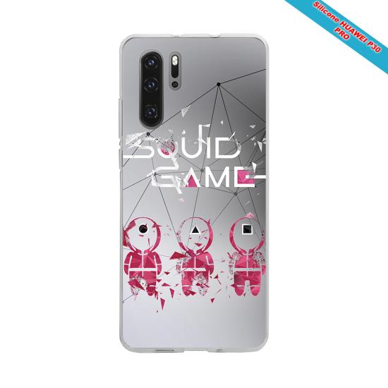 Coque silicone Huawei Mate 10 LITE Fan de Rugby Toulon Destruction