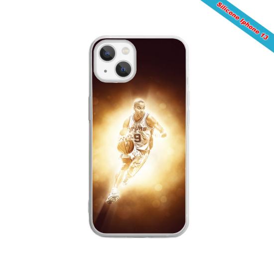 Coque silicone Iphone 11 Pro verre trempé Fan de Rugby Toulouse Destruction