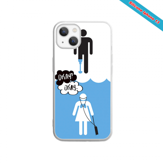 Coque silicone Galaxy A41 Fan de Rugby Toulouse Destruction