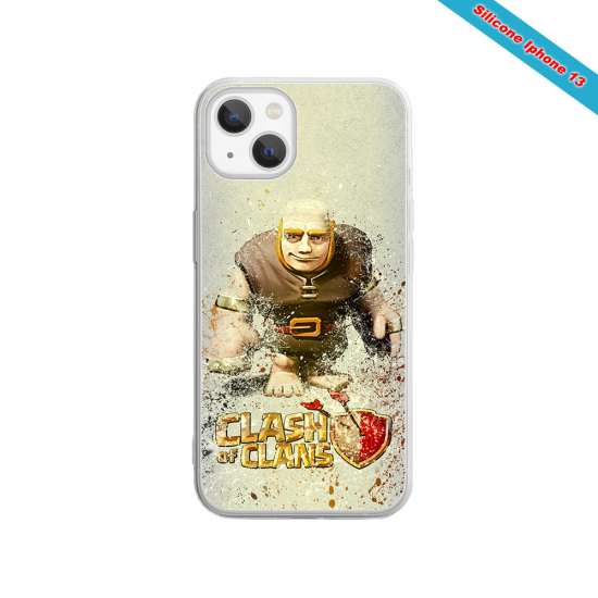 Coque silicone Huawei P8 lite Fan de Rugby Toulouse Destruction