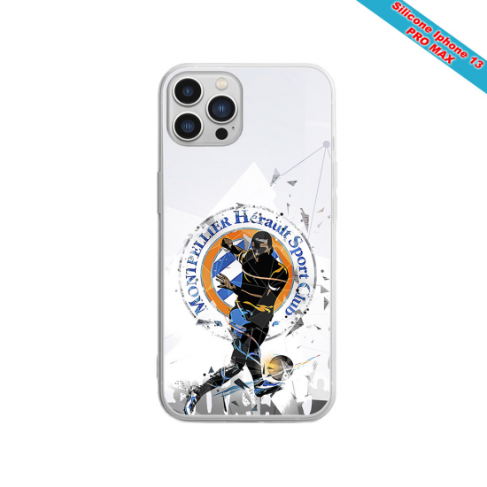 Coque Silicone iphone 5C Fan de Sons Of Anarchy obsidienne