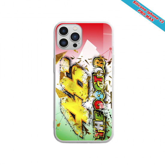 Coque silicone Iphone 6/6S Fan de Sons Of Anarchy obsidienne