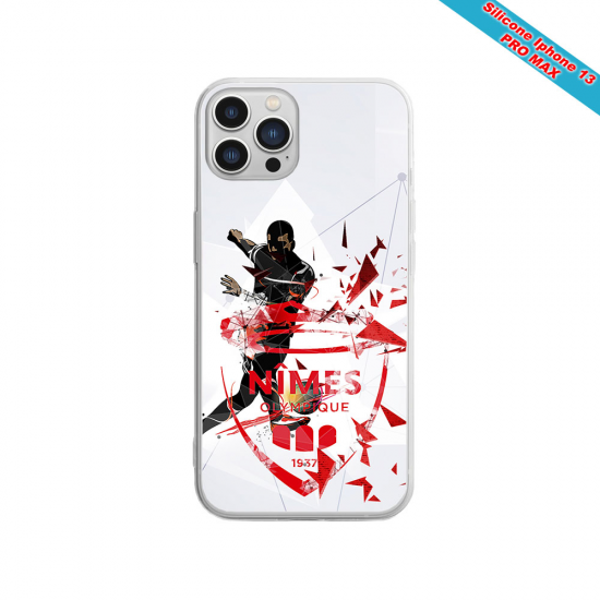 Coque silicone Iphone X/XS Fan de Sons Of Anarchy obsidienne