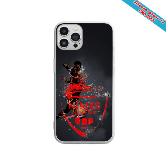 Coque silicone Iphone X/XS verre trempé Fan de Sons Of Anarchy obsidienne