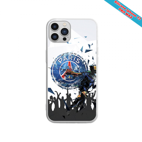 Coque silicone Iphone XR Verre Trempé Fan de Sons Of Anarchy obsidienne