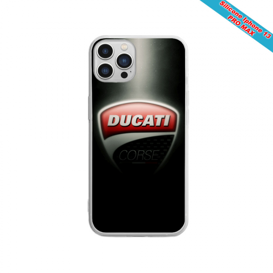 Coque silicone Iphone XS MAX Fan de Sons Of Anarchy obsidienne