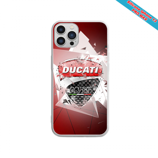 Coque silicone Iphone 11 Fan de Sons Of Anarchy obsidienne