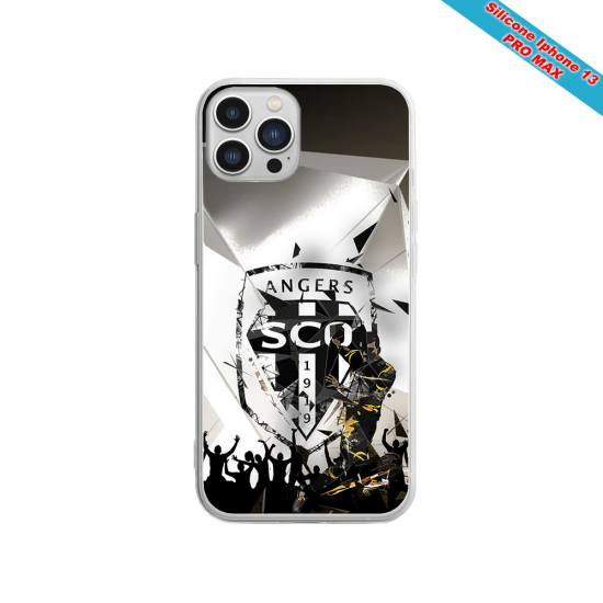 Coque silicone Iphone 11 Pro Fan de Sons Of Anarchy obsidienne